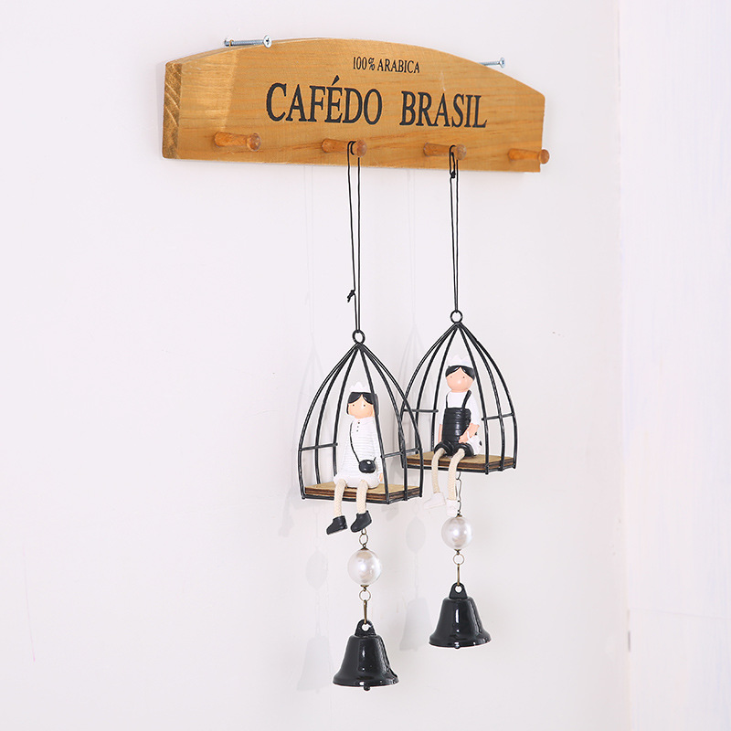 D creative novelty especially useful romantic cute cocoa kingdom wind chimes to send boys and girls girlfriends birthday gift