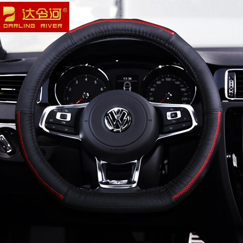 D models steering wheel cover steering wheel cover applies to 16 dongfeng scenery 580 360 370 330 special leather car grips