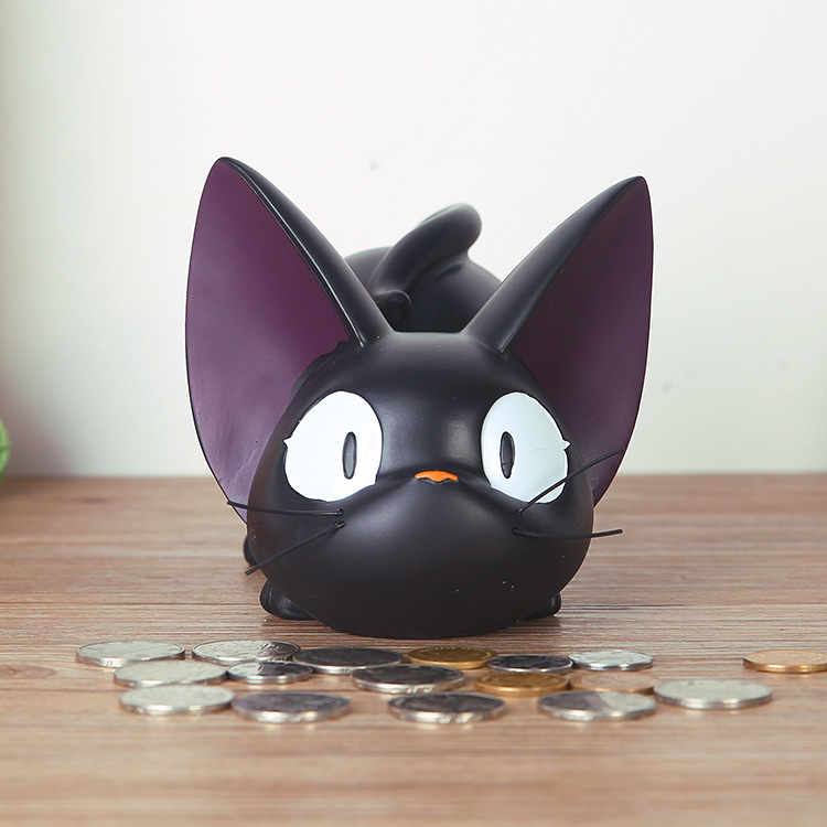 D zigi creative novelty especially useful romantic cute cat piggy bank to send boys and girls girlfriends birthday gift