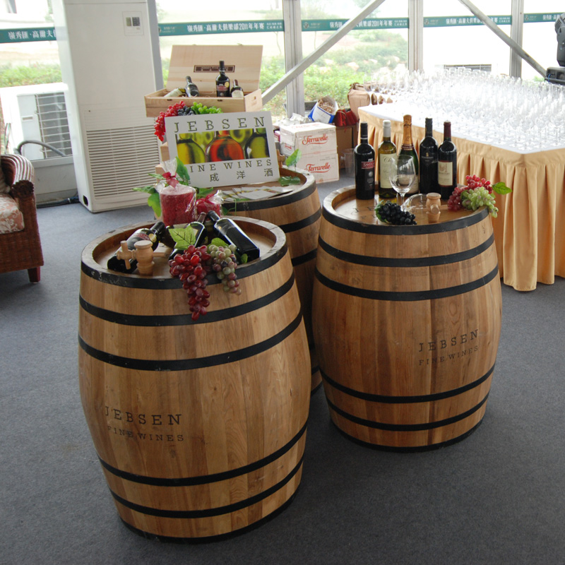 Dan hong yi 50 liters of retro color wooden oak barrels oak wine barrels oak barrels wine barrel liner