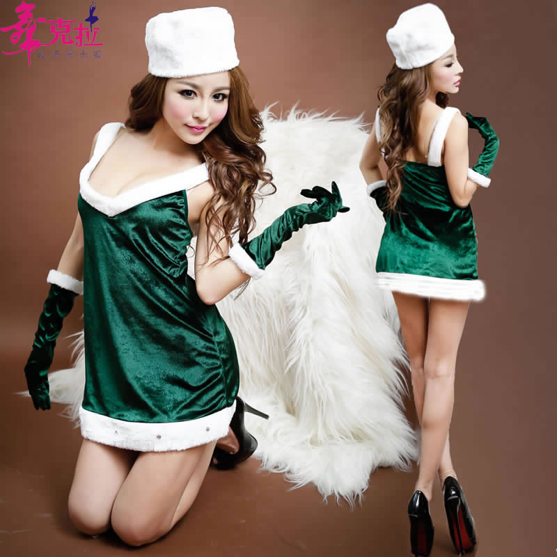 get quotations dance carat sexy christmas costumes christmas costumes christmas party uniforms nightclub ds costumes costumes - Diy Christmas Costumes