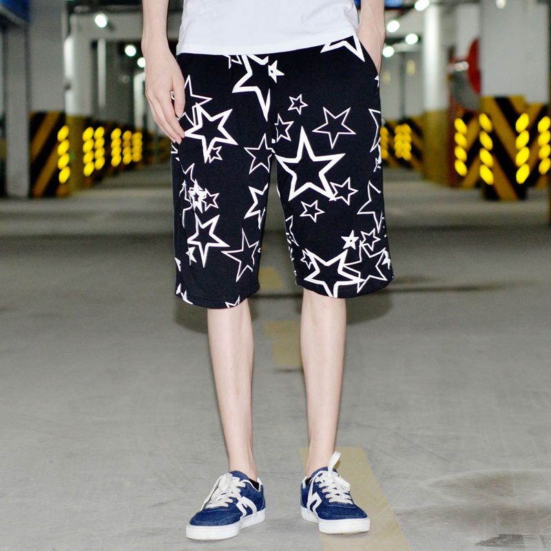 Danjie shi 2016 summer influx of men loose men's youth shorts five pants male sports shorts male korean version of the stars