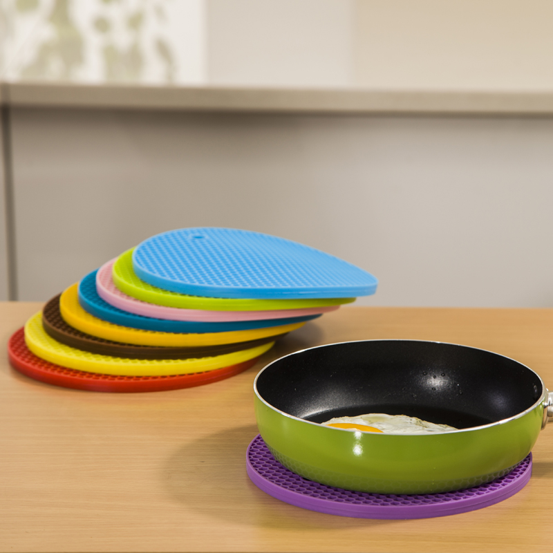 Dapai house euclidian silicone mat insulation pad table mats coasters mat bowls pot saucers pad thick bee nest single