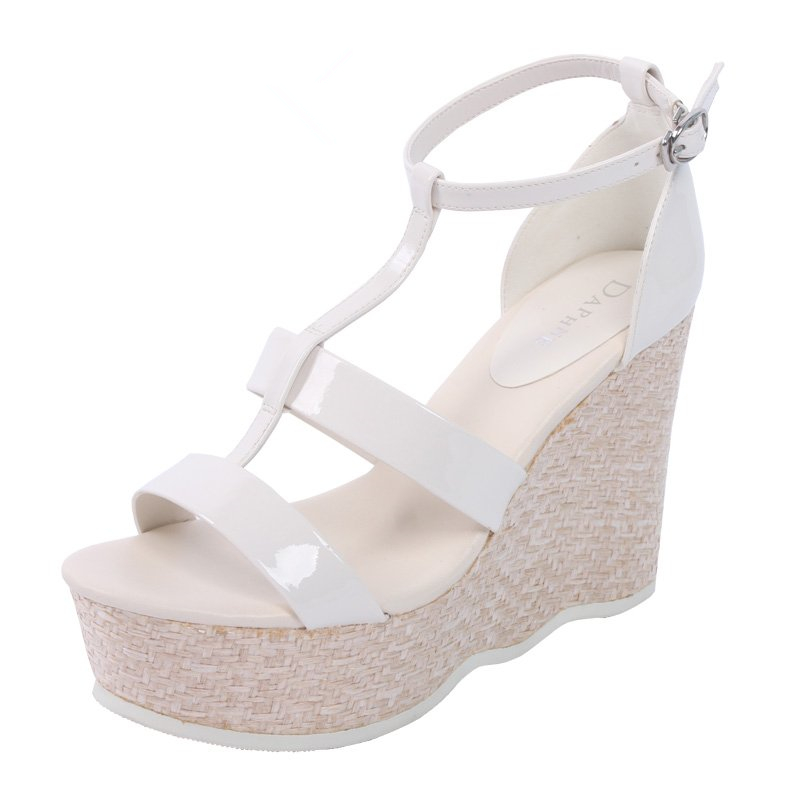 Daphne/daphne sandals summer sandals slope with high heels waterproof sandals clearance warehouse 1013303054