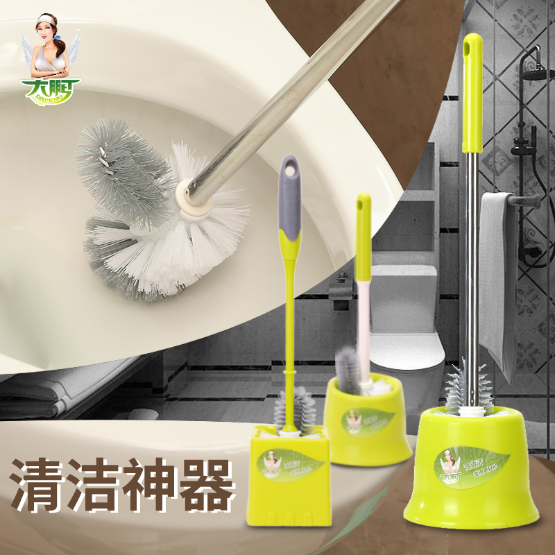 Dapon/roc suite toilet toilet toilet brush toilet brush to clean stainless steel wash skillet plastic no dead