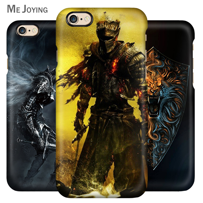 Dark soul 3 apple phone shell iPhone5se/6/6 s/plus phone shell mobile phone shell hard shell silicone soft shell