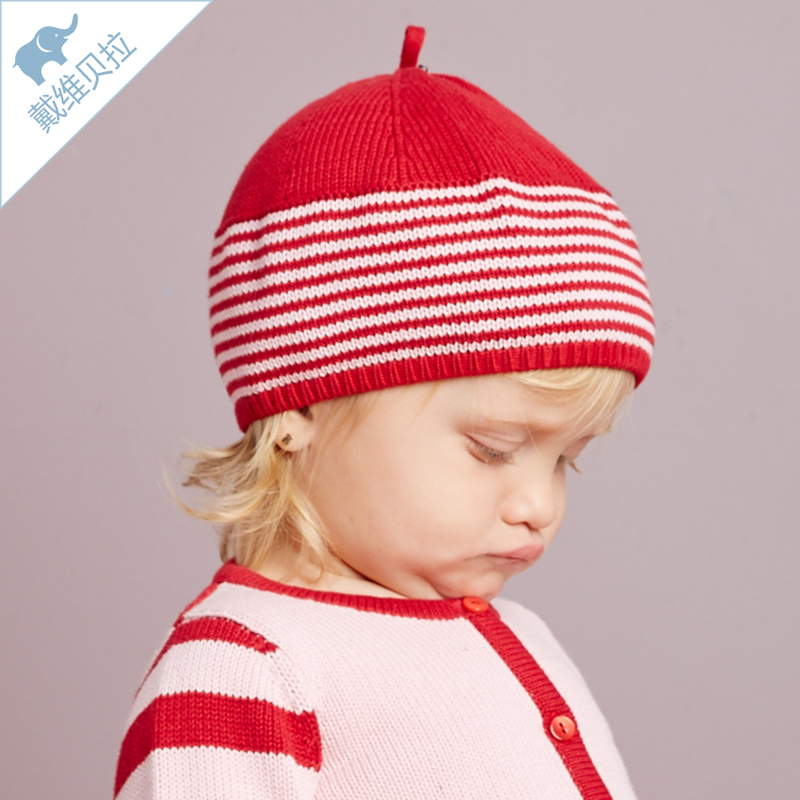 Get Quotations · Davebella david bella infant winter hat knitted hat baby  cotton hat d2c924408a3f