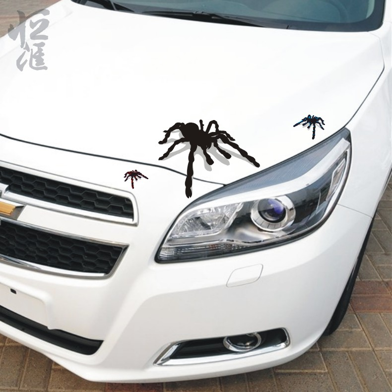 David carse spider fuel tank cap stickers car stereo car stickers car stickers waterproof klimts shelter scratches decorative modified car stickers