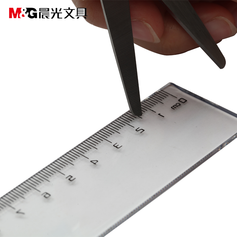 Dawn dawn arl9600530cm ruler ruler 30cm transparent ruler ruler ruler plastic ruler student with a ruler industrial office with a ruler