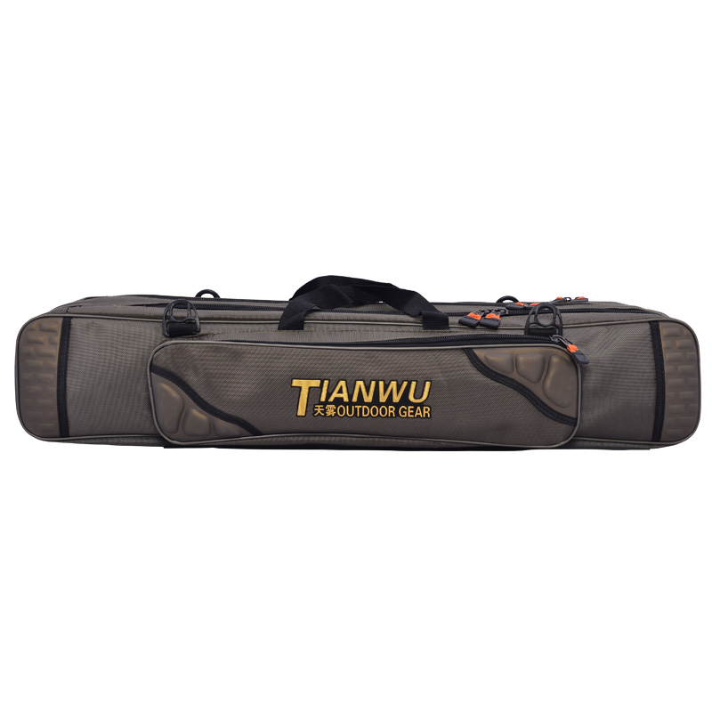 Days of fog oxford cloth 80 90 cm 1.2 m three fishing rod fishing tackle bag fishing rod fishing rod bag bag shoulder bag Fishing fishing