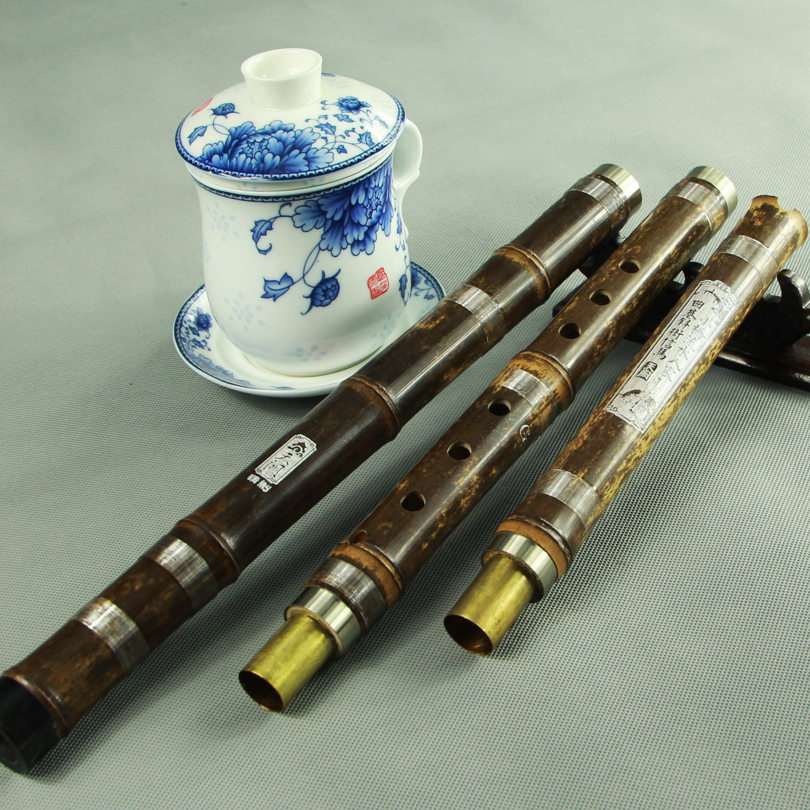 [Days que] free shipping to send the book refined beginner flute xiao eight holes/tin professional shichiku dongxiao