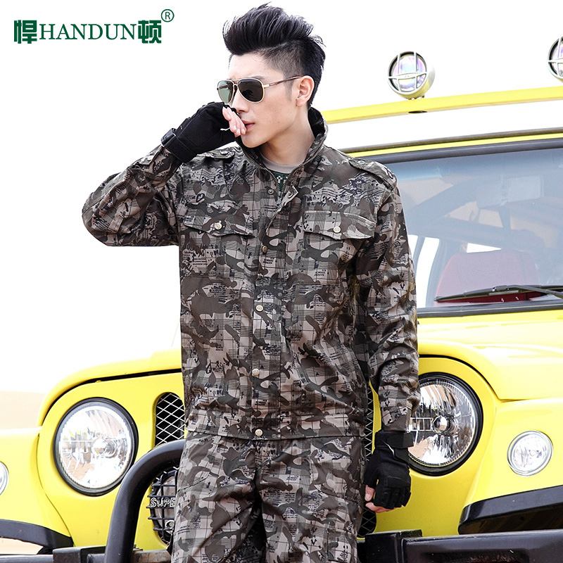 Dayton defended outdoor camouflage suit male field army special forces training uniform military service military clothing military fans men's Combat uniforms