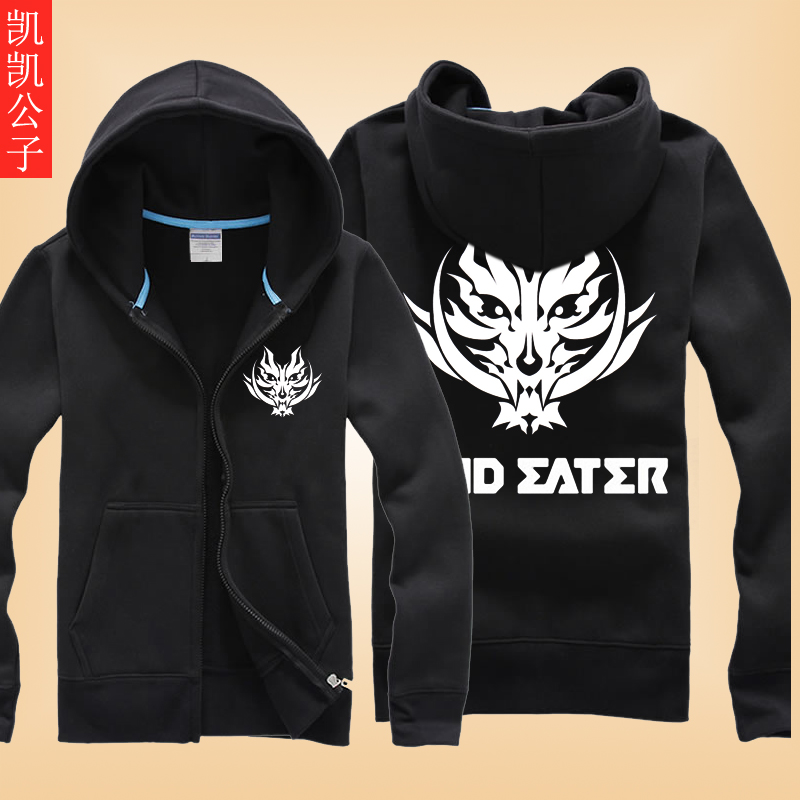 Death note death god eater clothes new spring and autumn thin coat plus fertilizer xl men's hoodie sweater