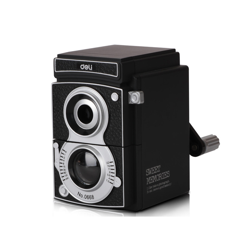 Deli 0668 adjustable multifunction sliced pencil sharpener pencil sharpener cranked pencil sharpener pencil rough pencil sharpeners andshade camera