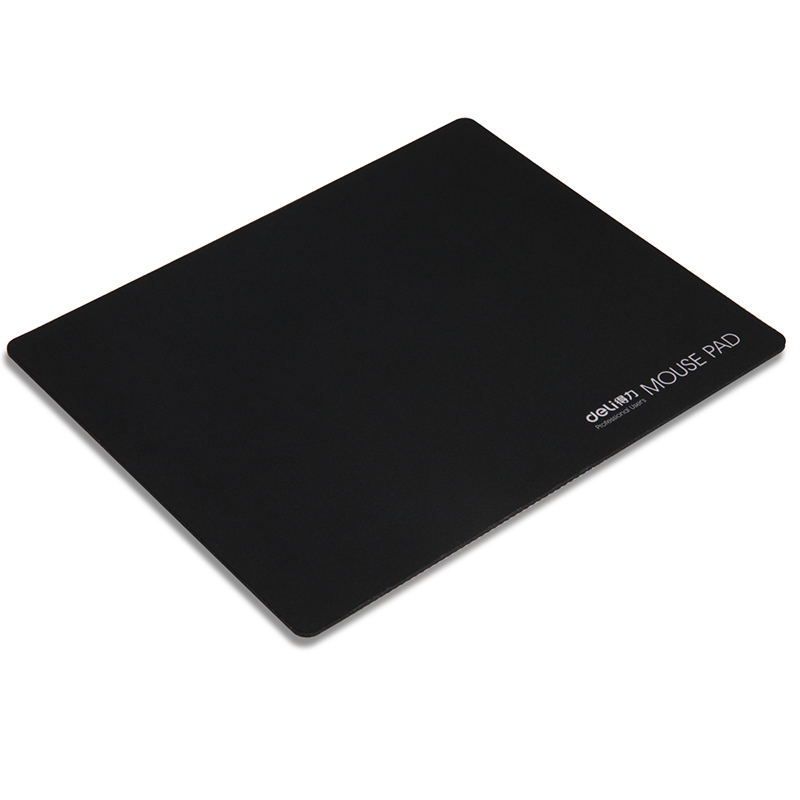 Deli large natural rubber mouse pad gaming mouse pad mouse pad slip mat office computer keyboard mat