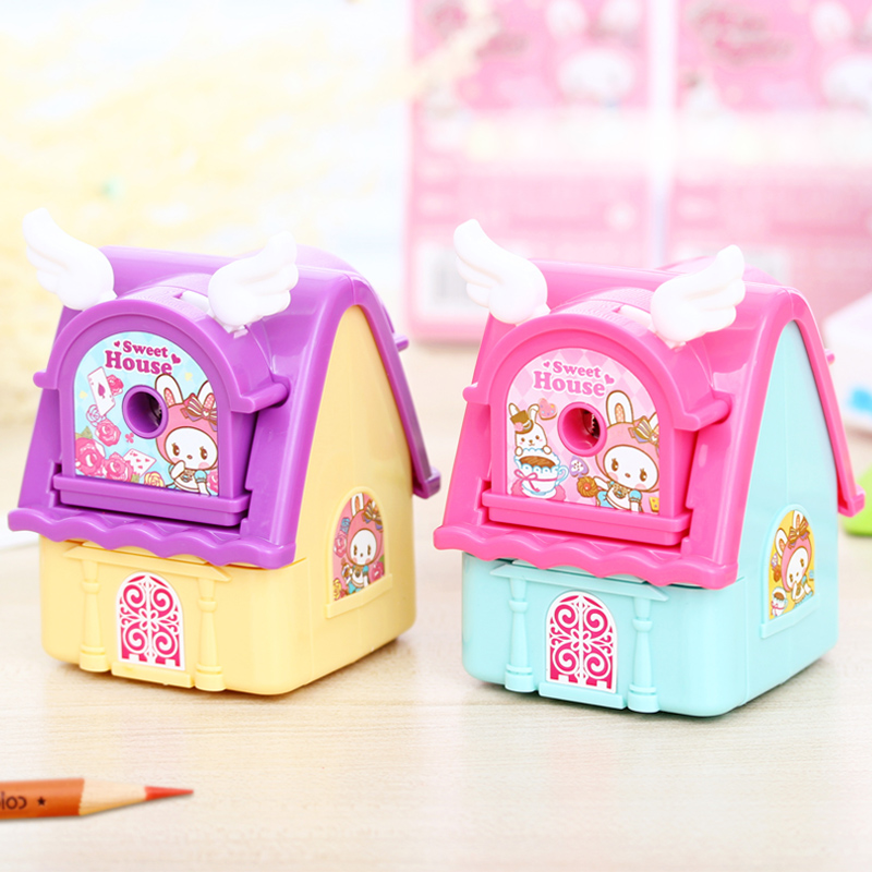 Deli pencil sharpener pencil sharpener pencil sharpener children cranked pencil sharpener pencil sharpener planing machine pen pencil student stationery cartoon pencil sharpener pencil sharpeners knife free shipping