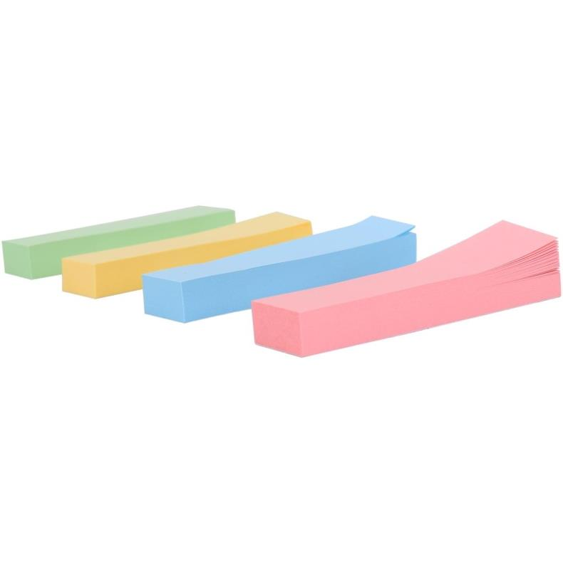 Deli stationery 7730 color sticky notes posted all four mounted color pepsi paste everything posted convenient strip affixed to the student office supplies