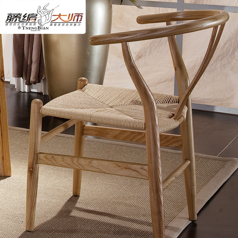Delineators ㊣ hotel rattan furniture rattan chair rattan chair rattan chair rattan dining chair rattan wicker chair casual restaurant hotel dining chair