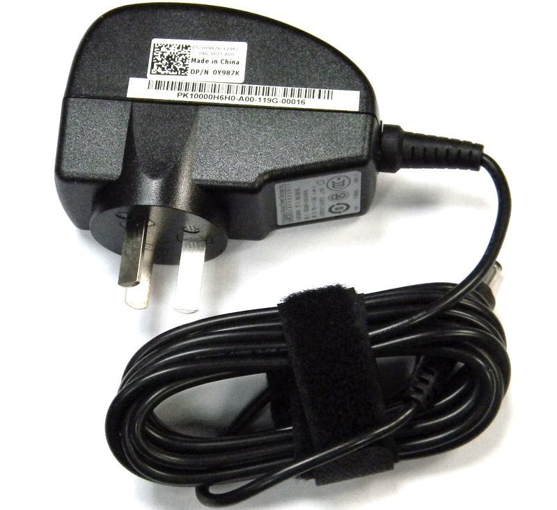 Dell/dell original 10 w 1219 v 1.58a mini9 netbook power adapter charger