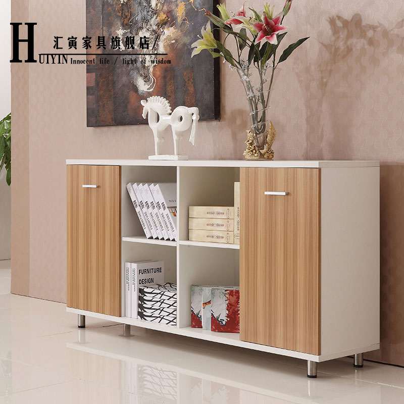 Department of yin shanghai office furniture file cabinet tea cabinet cabinet mobile aigui wood quality documents aigui cabinet home