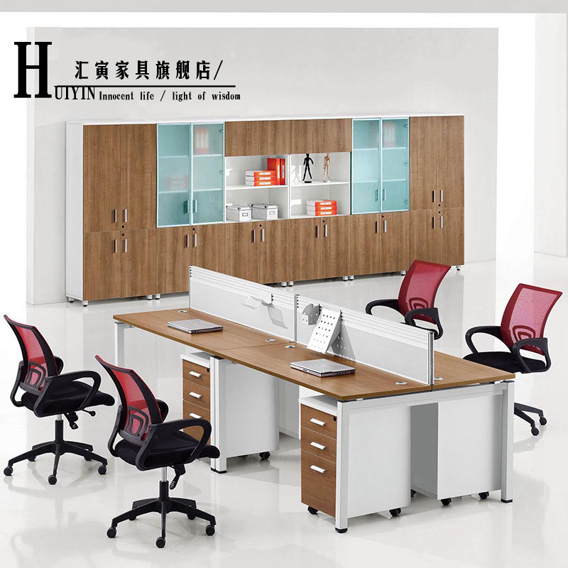 Department of yin shanghai office furniture office furniture office wall combination of 6 people desk staff tables staff position