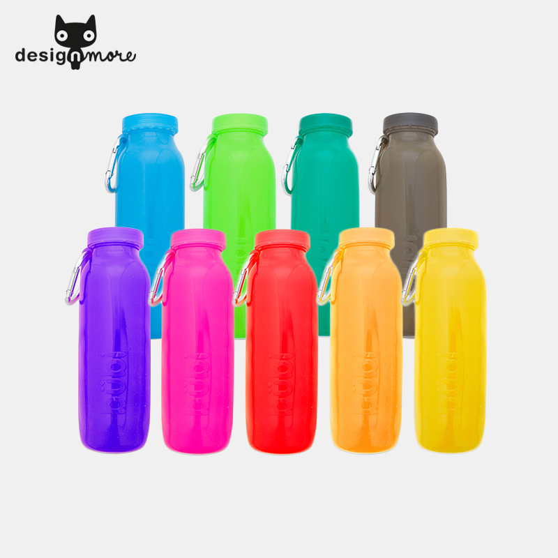 Design cat us bubi outdoor folding cup sports travel mug cup creative portable outdoor travel companion