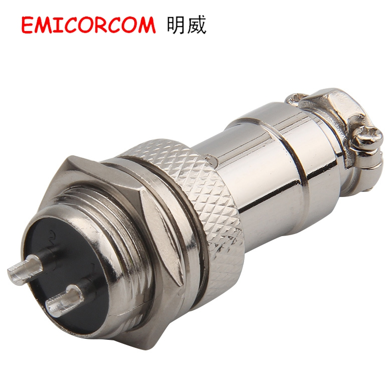 Df16 gx16-2p 2 core aviation plug connector 16 m-2 p 16m-2a 2b