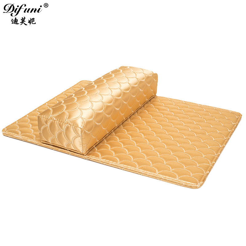 Di funi towel nail tools nail hand pillow hand pillow hand pillow hand pad wrist pad removable and washable nail shop supplies