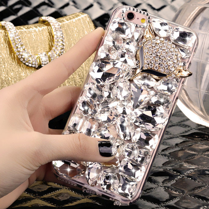 Diamond mobile phone protective shell samsung samsung j7 j7108/J7109 shell mobile phone sets 2016 hard shell female sm