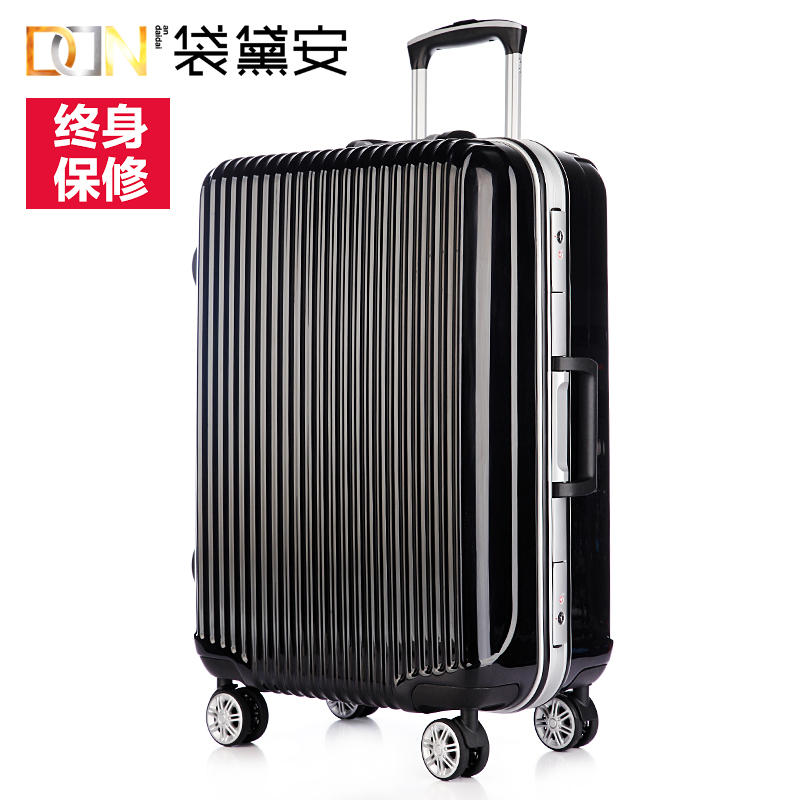 Diane bag fashion trolley suitcase 20/24 inch suitcase checked luggage suitcase caster influx of men and women hard case