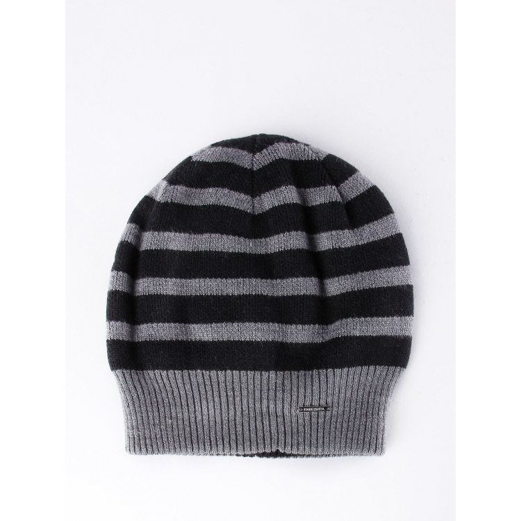 73d10f11379 Get Quotations · Diesel disynthesis men s beanie Q02063261 grey