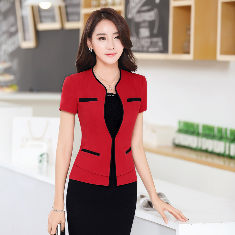 Get Quotations Dingheng New Office Las Dress Uniforms Career Suits Fashion Short Sleeve Skirt Suit