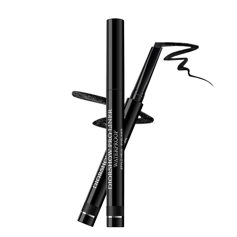 Dior/dior amazing waterproof eyeliner eyeliner 0.3g #098 deep black stereo waterproof is not blooming