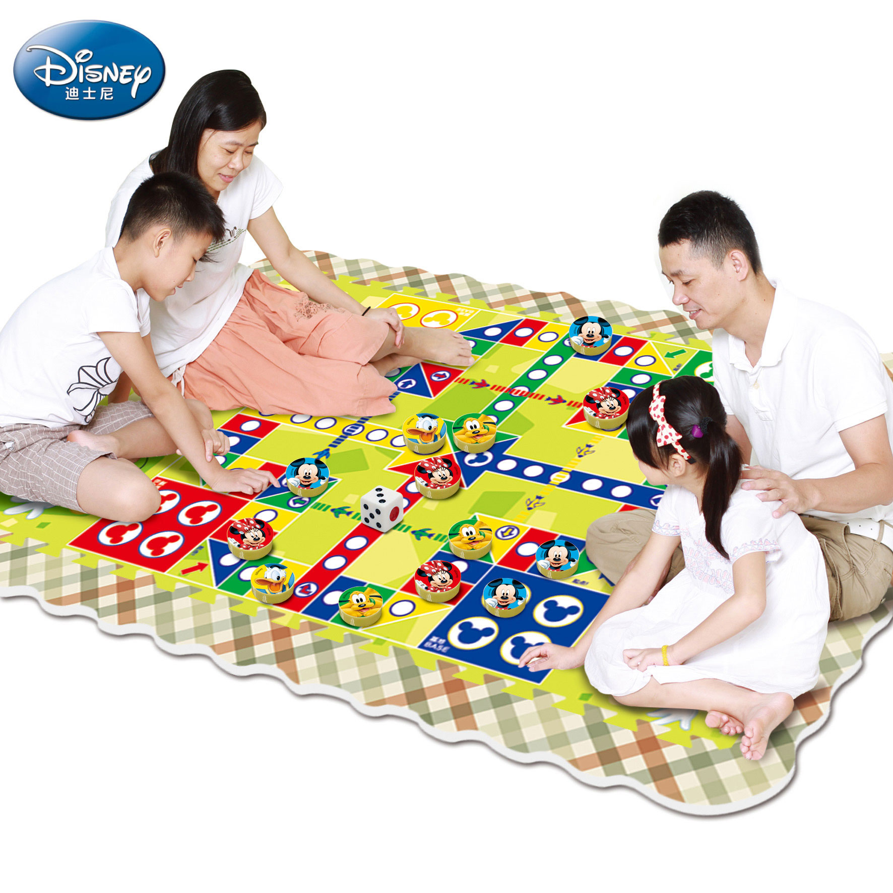 Disney baby crawling mat fence thicker stitching infant children climb pad foam puzzle mats mat