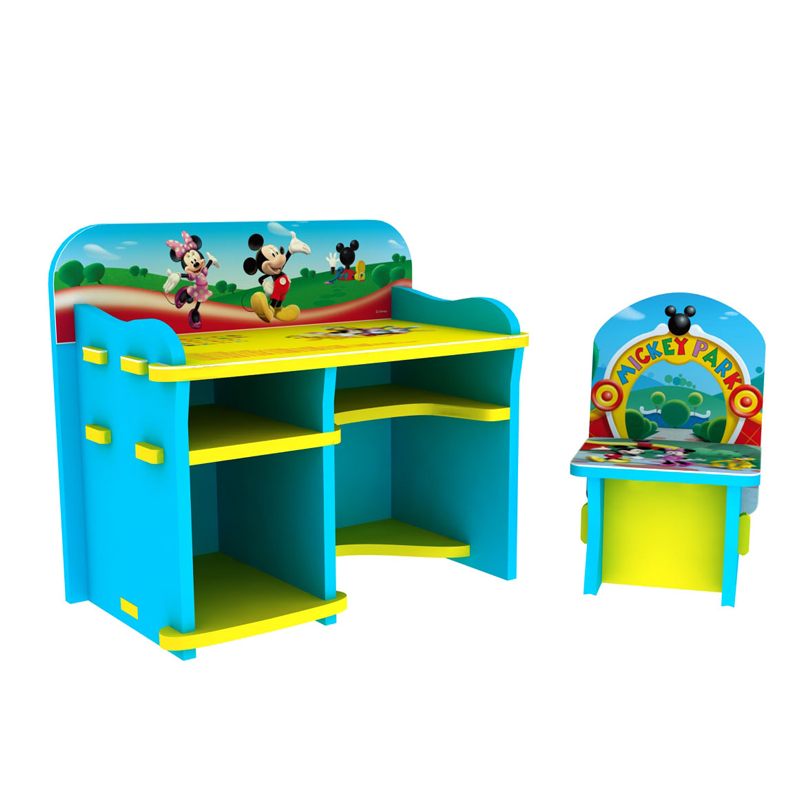 Disney baby eva children desks and chairs for children to learn desk desk multifunction child myopia prevention