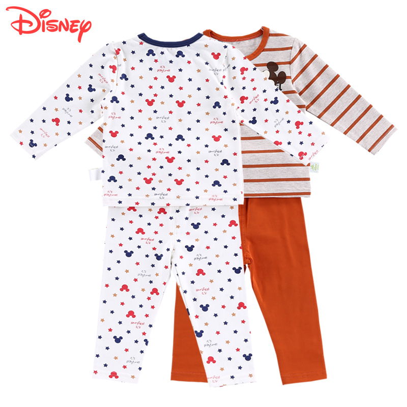 Disney baby thermal underwear sets for boys and girls baby suit qiuyiqiuku autumn and winter underwear suit