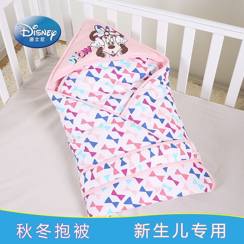 Disney baby was newborn supplies thick cotton bag with detachable guts fall and winter was baojin spring and autumn to increase funds