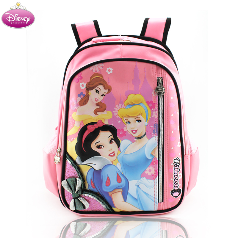 382caf33d2b Get Quotations · Disney burdens schoolbag cartoon snow white girls in  primary school bag children s school bags shoulders back