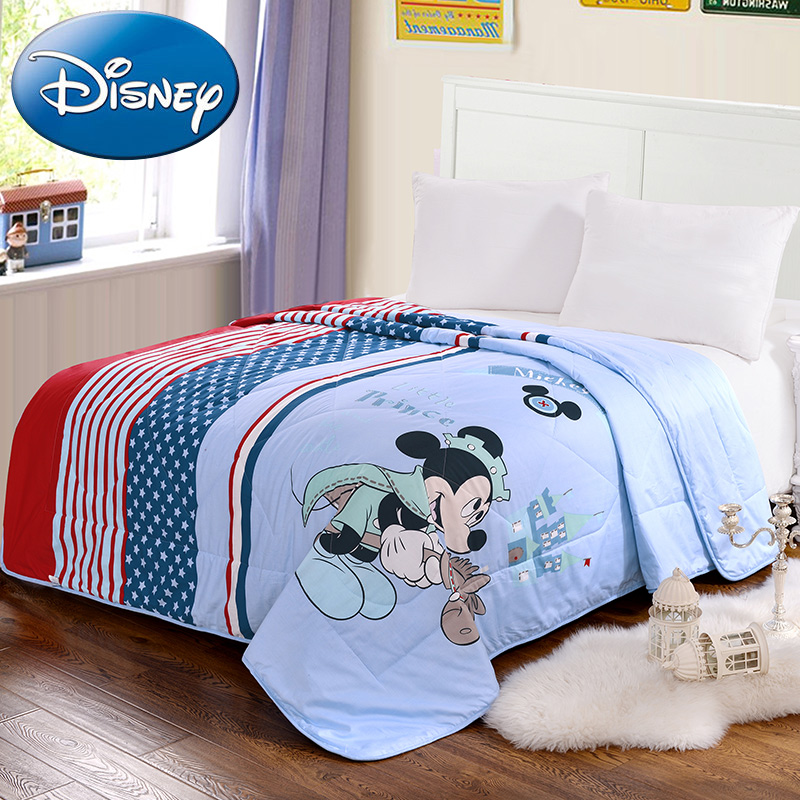 Disney cartoon air conditioning was double quilt spring and summer was cooler washable quilt spring is the summer by children