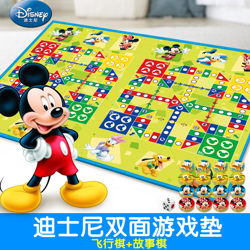Disney children crawling mat thick fence stitching sided baby climb pad moisture pad mats home