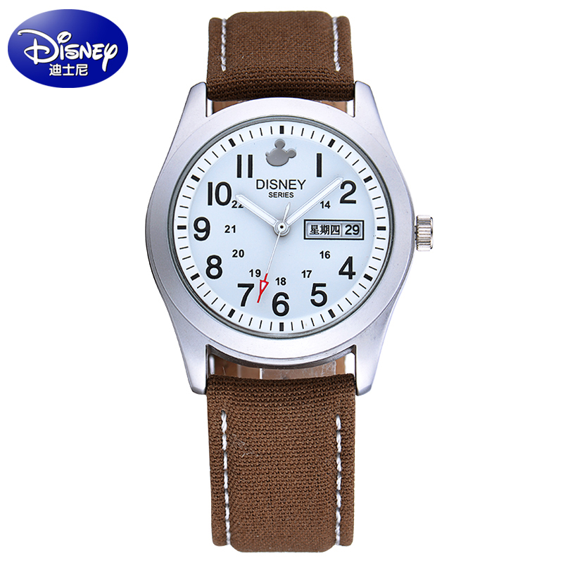 Disney children watch boy cute cartoon boy diss disney mickey students watch quartz watch strap