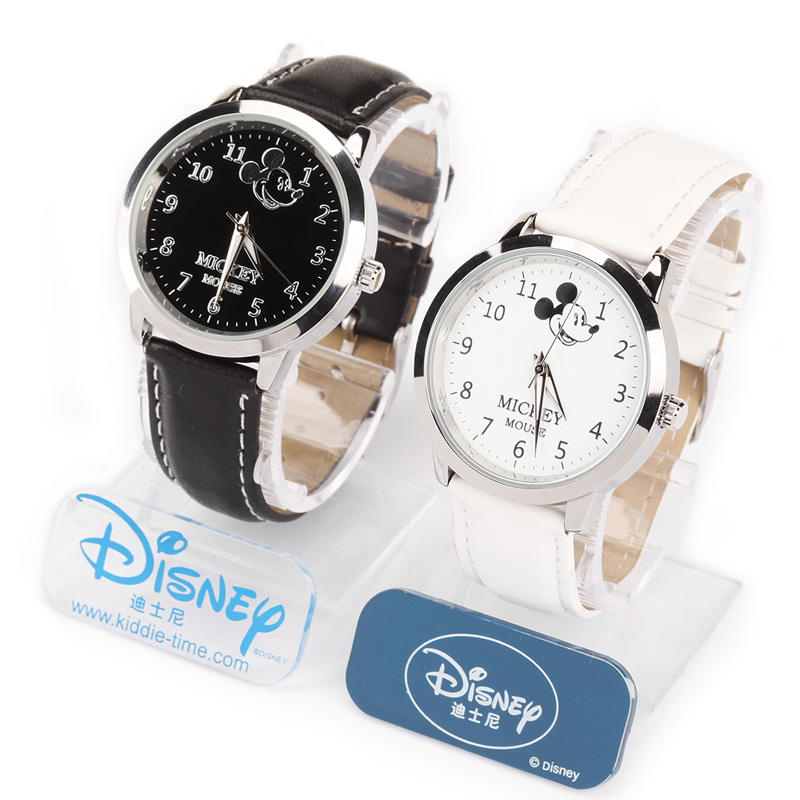 Disney children watch cartoons electronic watches waterproof watch mickey boy student boy toy new year's gift ideas and practical