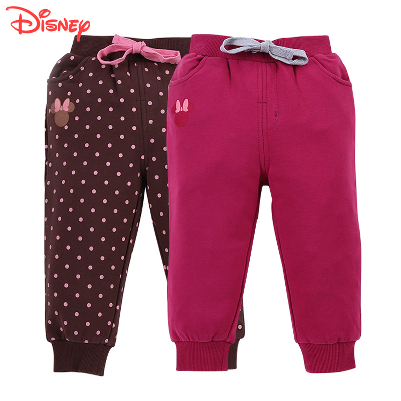 Disney children's clothing for boys and girls pants trousers spring and autumn cotton baby pants infant pants childrenwear