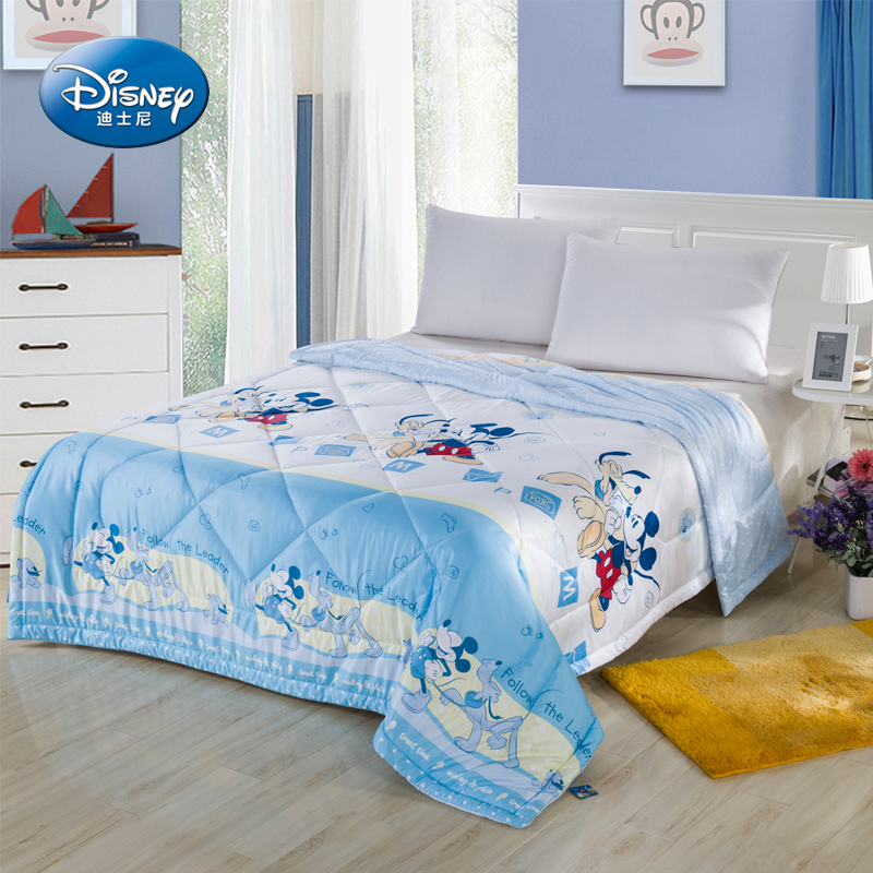 Disney/disney day silk air conditioning is single or double quilt children cartoon summer was cooler spring and summer
