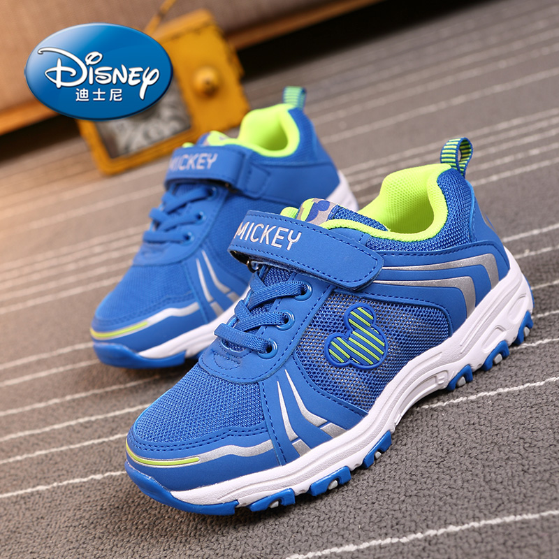 Disney mickey children's shoes 2016 spring and autumn men's shoes women's shoes children's sports shoes running shoes casual shoes