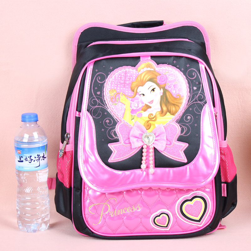 5a203e5ce77 Get Quotations · Disney snow white girls princess bags primary children s school  bags spinal care burdens backpack