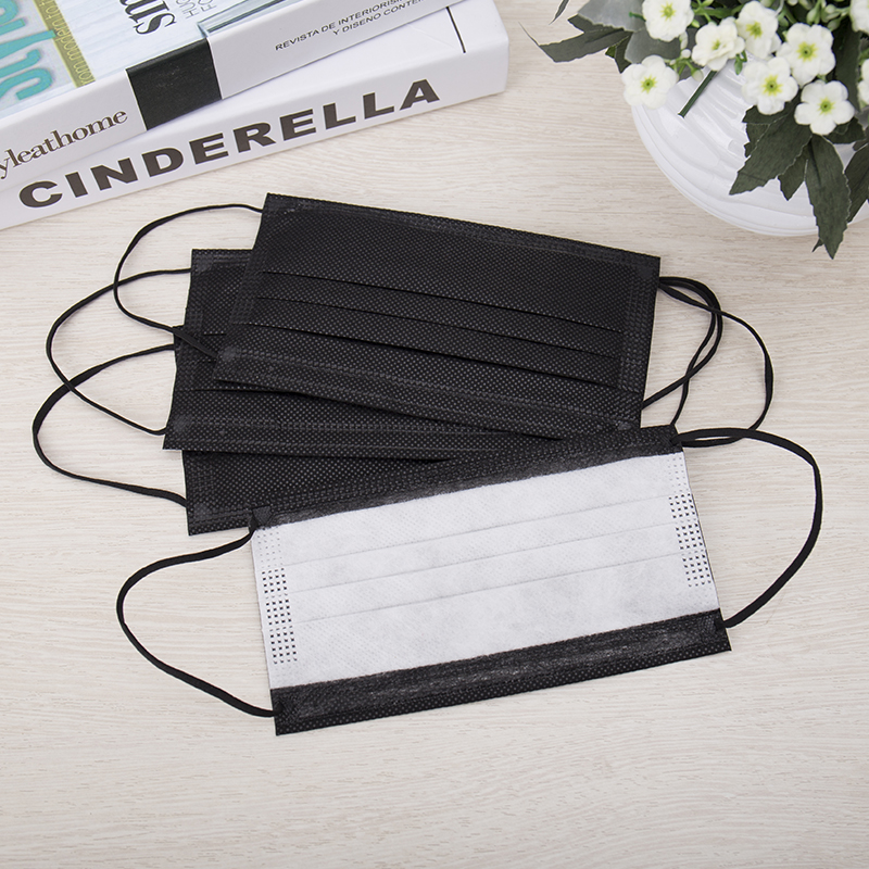 Disposable masks black charcoal dust haze of men and ladies spring and summer season of an hyun black [buy 2 to send a 1]