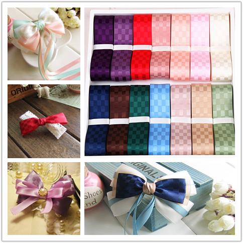 Diy hair accessories material (a price) 25mm/5cm sided box ribbon silk ribbon belt sd086 cecectomized