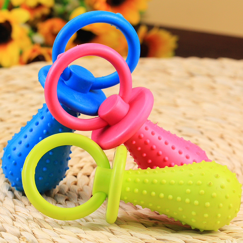Dog toys molar tooth care nipple bells large and small dog toy rubber toy sound toys toys