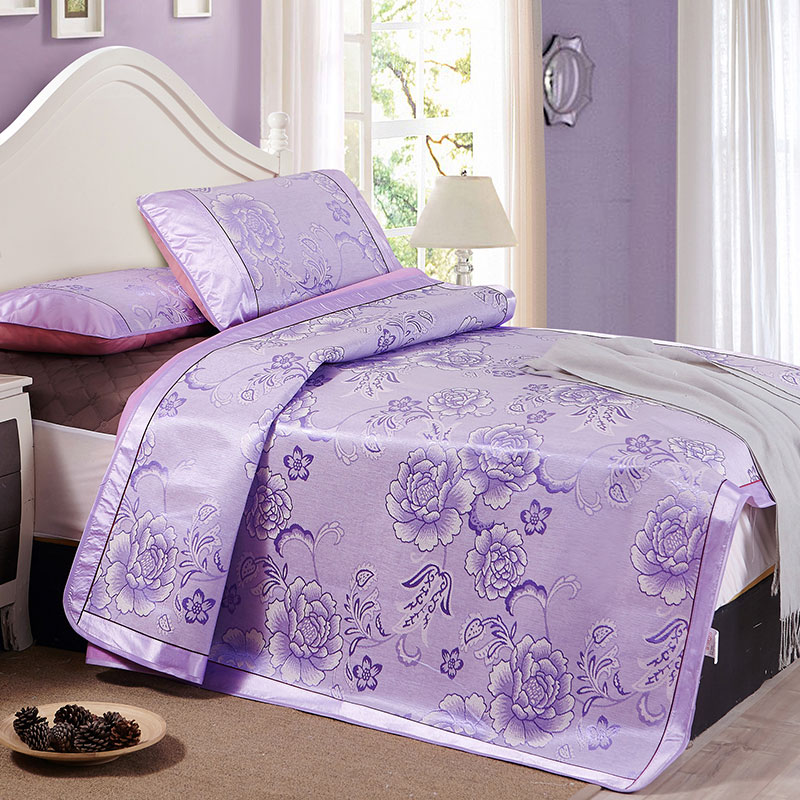 Dorota/duo luota textile seats ice silk three sets of m bed mat folding mat 1.5 m double bed